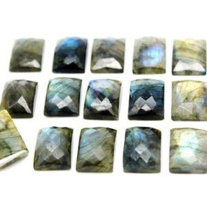 Shop Labradorite Cabochons! Rectangle cabochon,labradorite gemstone,faceted gemstones,gemstone cabochons,13x18mm gemstone cab – AA Quality | Natural genuine stones & crystals in various shapes & sizes. Buy raw cut, tumbled, or polished gemstones for making jewelry or crystal healing energy vibration raising reiki stones. #crystals #gemstones #crystalhealing #crystalsandgemstones #energyhealing #affiliate #ad