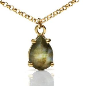 Shop Labradorite Pendants! Labradorite necklace,Teardrop necklace,stone pendant,gemstone necklace,gold necklace,prong pendant,bridal necklace | Natural genuine Labradorite pendants. Buy handcrafted artisan wedding jewelry.  Unique handmade bridal jewelry gift ideas. #jewelry #beadedpendants #gift #crystaljewelry #shopping #handmadejewelry #wedding #bridal #pendants #affiliate #ad