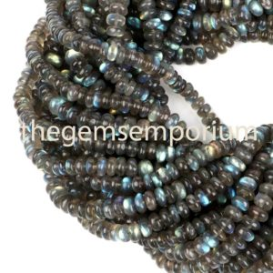 Shop Labradorite Rondelle Beads! Labradorite Plain Rondelle Beads,Labradorite Smooth Rondelle Beads, AAA Quality,Labradorite Rondelle Beads,Labradorite Beads,Wholesale Beads | Natural genuine rondelle Labradorite beads for beading and jewelry making.  #jewelry #beads #beadedjewelry #diyjewelry #jewelrymaking #beadstore #beading #affiliate #ad