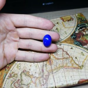 Shop Lapis Lazuli Cabochons! Lapis Lazuli Oval Gemstone Cabochon *AAA GRADE* | Natural genuine stones & crystals in various shapes & sizes. Buy raw cut, tumbled, or polished gemstones for making jewelry or crystal healing energy vibration raising reiki stones. #crystals #gemstones #crystalhealing #crystalsandgemstones #energyhealing #affiliate #ad
