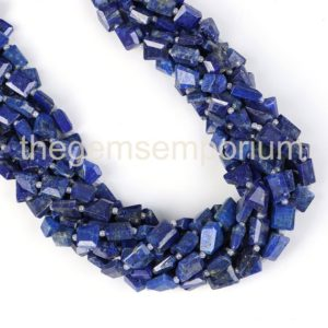 Shop Lapis Lazuli Chip & Nugget Beads! Lapis Lazuli Faceted Nugget Beads, lapis Lazuli Faceted Nugget Gemstone Beads, lapis Lazuli Nugget Beads , lapis Lazuli Wholesale Beads | Natural genuine chip Lapis Lazuli beads for beading and jewelry making.  #jewelry #beads #beadedjewelry #diyjewelry #jewelrymaking #beadstore #beading #affiliate #ad