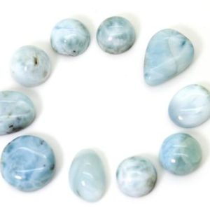 Shop Larimar Chip & Nugget Beads! Natural Dominican Larimar – 10 pcs Chips Rock Stone Gemstone Variety Tear Drop Shape Beads for Ring Necklace Pendant Jewelry Making – PGL50 | Natural genuine chip Larimar beads for beading and jewelry making.  #jewelry #beads #beadedjewelry #diyjewelry #jewelrymaking #beadstore #beading #affiliate #ad