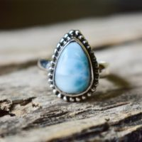 Us Size 7.75 – Larimar Ring , Statement Ring , 925 Sterling Silver , Larimar Gemstone Silver Ring , Women Jewellery Gift #r16 | Natural genuine Gemstone jewelry. Buy crystal jewelry, handmade handcrafted artisan jewelry for women.  Unique handmade gift ideas. #jewelry #beadedjewelry #beadedjewelry #gift #shopping #handmadejewelry #fashion #style #product #jewelry #affiliate #ad