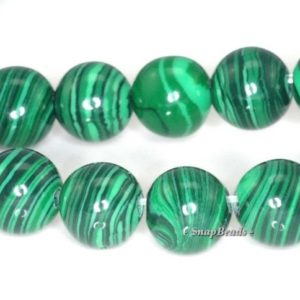 Shop Malachite Round Beads! 6mm Hedge Mazes Green Malachite Gemstone Grade A Round 6mm Loose Beads 16 Inch Full Strand (90114643-204) | Natural genuine round Malachite beads for beading and jewelry making.  #jewelry #beads #beadedjewelry #diyjewelry #jewelrymaking #beadstore #beading #affiliate #ad