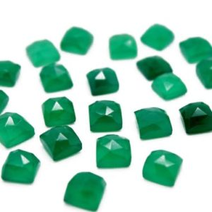 Shop Onyx Cabochons! Green onyx cabochon,rose cut onyx,square cabochon,faceted cabochon,square gemstone,square stone,green cabochon,jewelry making cabochons | Natural genuine stones & crystals in various shapes & sizes. Buy raw cut, tumbled, or polished gemstones for making jewelry or crystal healing energy vibration raising reiki stones. #crystals #gemstones #crystalhealing #crystalsandgemstones #energyhealing #affiliate #ad