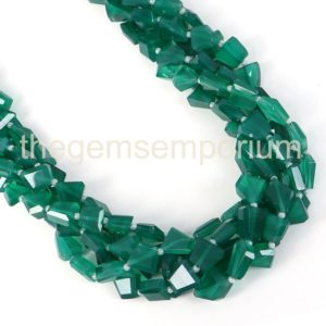 Shop Onyx Chip & Nugget Beads! Green Onyx Faceted Nugget Beads, Green Onyx Nugget Shape Gemstone Beads, Green Onyx Wholesale Beads, Green Onyx Beads, Green Onyx | Natural genuine chip Onyx beads for beading and jewelry making.  #jewelry #beads #beadedjewelry #diyjewelry #jewelrymaking #beadstore #beading #affiliate #ad
