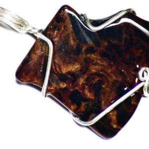 Shop Pietersite Pendants! Blue Pietersite Jewelry, Silky Pietersite Pendant, Namibian Pietersite in Sterling Silver, Ocean Water Necklace, Natural Pietersite Jewelry | Natural genuine Pietersite pendants. Buy crystal jewelry, handmade handcrafted artisan jewelry for women.  Unique handmade gift ideas. #jewelry #beadedpendants #beadedjewelry #gift #shopping #handmadejewelry #fashion #style #product #pendants #affiliate #ad