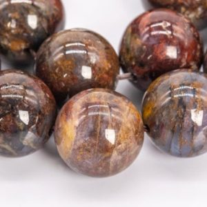 Shop Pietersite Beads! 31 / 16 Pcs – 12MM Brown Pietersite Beads Colombia Grade AA Genuine Natural Round Gemstone Loose Beads (111986) | Natural genuine round Pietersite beads for beading and jewelry making.  #jewelry #beads #beadedjewelry #diyjewelry #jewelrymaking #beadstore #beading #affiliate #ad