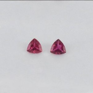 Shop Pink Tourmaline Shapes! 6x6x3mm Natural Pink Tourmaline Faceted Cut Trillion 2 Pieces AA+ Grade Loose Gemstone -100% Natural Pink Tourmaline Gemstone – TUPNK-1002 | Natural genuine stones & crystals in various shapes & sizes. Buy raw cut, tumbled, or polished gemstones for making jewelry or crystal healing energy vibration raising reiki stones. #crystals #gemstones #crystalhealing #crystalsandgemstones #energyhealing #affiliate #ad