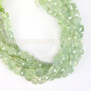 Shop Prehnite Faceted Beads! Prehnite Faceted Box Shape Gemstone Beads, Prehnite Faceted Beads, Prehnite Box Shape Beads, Prehnite Beads, Prehnite New Arrival | Natural genuine faceted Prehnite beads for beading and jewelry making.  #jewelry #beads #beadedjewelry #diyjewelry #jewelrymaking #beadstore #beading #affiliate #ad