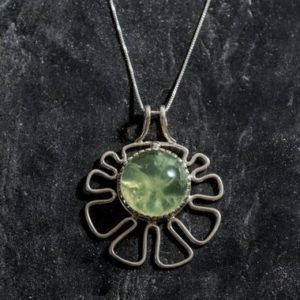 Shop Prehnite Pendants! Flower Pendant, Prehnite Pendant, Natural Prehnite, Green Pendant, May Birthstone, Unique Pendant, Large Prehnite, May Pendant, Prehnite | Natural genuine Prehnite pendants. Buy crystal jewelry, handmade handcrafted artisan jewelry for women.  Unique handmade gift ideas. #jewelry #beadedpendants #beadedjewelry #gift #shopping #handmadejewelry #fashion #style #product #pendants #affiliate #ad