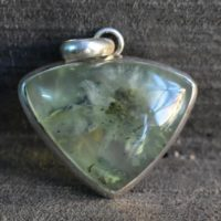 Natural Prehnite Pendant, prehnite Pendant, 925 Silver Pendant, green Prehnite Pendant, natural Green Prehnite Pendant, gemstone Pendant | Natural genuine Gemstone jewelry. Buy crystal jewelry, handmade handcrafted artisan jewelry for women.  Unique handmade gift ideas. #jewelry #beadedjewelry #beadedjewelry #gift #shopping #handmadejewelry #fashion #style #product #jewelry #affiliate #ad