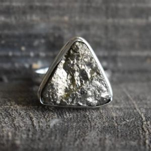Shop Pyrite Rings! natural pyrite druzy ring,golden pyrite ring,natural pyrite druzy ring,pyrite ring,pyrite gemstone ring,925 silver ring,gemstone ring | Natural genuine Pyrite rings, simple unique handcrafted gemstone rings. #rings #jewelry #shopping #gift #handmade #fashion #style #affiliate #ad