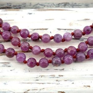 Shop Ruby Necklaces! Ruby Corundum round beads 3.5-4.5mm (ETB00203) Unique jewelry/Vintage jewelry/Gemstone necklace | Natural genuine Ruby necklaces. Buy crystal jewelry, handmade handcrafted artisan jewelry for women.  Unique handmade gift ideas. #jewelry #beadednecklaces #beadedjewelry #gift #shopping #handmadejewelry #fashion #style #product #necklaces #affiliate #ad