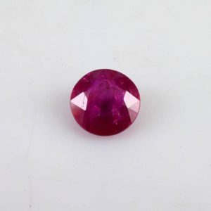 Shop Ruby Shapes! 0.90 cts Natural Ruby 5.4×5.4×3.7 mm Faceted Cut Round 1 Piece AA Grade Precious Loose Gemstone , 100% Natural Ruby Gemstone – RURED-1024 | Natural genuine stones & crystals in various shapes & sizes. Buy raw cut, tumbled, or polished gemstones for making jewelry or crystal healing energy vibration raising reiki stones. #crystals #gemstones #crystalhealing #crystalsandgemstones #energyhealing #affiliate #ad