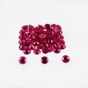 Shop Ruby Shapes! 2.5×2.5×1.7 mm Natural Burmese Ruby Faceted Round AAA+ Grade Precious Loose Gemstone – 100% Genuine Natural Ruby Gemstone – RURED-1149 | Natural genuine stones & crystals in various shapes & sizes. Buy raw cut, tumbled, or polished gemstones for making jewelry or crystal healing energy vibration raising reiki stones. #crystals #gemstones #crystalhealing #crystalsandgemstones #energyhealing #affiliate #ad