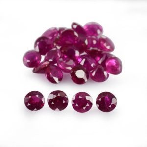 Shop Ruby Shapes! 2.75×2.75×1.7 mm Natural Burmese Ruby Faceted Round Precious Loose Gemstone , 100% Natural Ruby Gemstone , Natural Burm Ruby – RURED-1183 | Natural genuine stones & crystals in various shapes & sizes. Buy raw cut, tumbled, or polished gemstones for making jewelry or crystal healing energy vibration raising reiki stones. #crystals #gemstones #crystalhealing #crystalsandgemstones #energyhealing #affiliate #ad