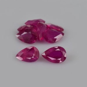 Shop Ruby Shapes! 4.55 cts Natural Red Ruby 6x4x2.9 mm Faceted Pear 8 Pieces Loose Gemstone – 100% Natural Ruby Gemstone , Ruby Gemstone Jewelry – RGRED-1086 | Natural genuine stones & crystals in various shapes & sizes. Buy raw cut, tumbled, or polished gemstones for making jewelry or crystal healing energy vibration raising reiki stones. #crystals #gemstones #crystalhealing #crystalsandgemstones #energyhealing #affiliate #ad