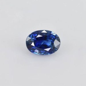Shop Sapphire Stones & Crystals! 7.2×5.2×3.9 Mm Natural Blue Sapphire Faceted Oval 1 Pieces 1.26 Cts Precious Loose Gemstone – 100% Natural Blue Sapphire Gemstone-sablu-1091 | Natural genuine stones & crystals in various shapes & sizes. Buy raw cut, tumbled, or polished gemstones for making jewelry or crystal healing energy vibration raising reiki stones. #crystals #gemstones #crystalhealing #crystalsandgemstones #energyhealing #affiliate #ad