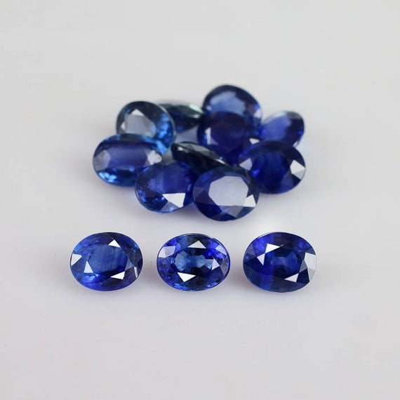 Blue Sapphire Faceted Cut Oval 5x4x2.2 Mm Loose Gemstone - 100% Natural Blue Sapphire Gemstone - Sapphire Gemstone Jewelry - Sablu-1120
