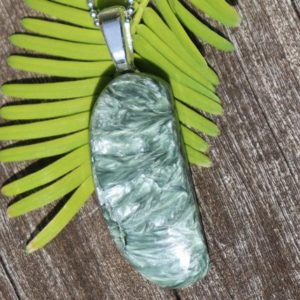 Shop Seraphinite Necklaces! Unisex Seraphinite Healing Stone Necklace with a High Spiritual Vibration! | Natural genuine Seraphinite necklaces. Buy crystal jewelry, handmade handcrafted artisan jewelry for women.  Unique handmade gift ideas. #jewelry #beadednecklaces #beadedjewelry #gift #shopping #handmadejewelry #fashion #style #product #necklaces #affiliate #ad