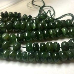 Shop Serpentine Rondelle Beads! Natural Green Serpentine Rondelle Beads, Smooth Rondelle Beads, 7mm to 9.5mm Beads, 18 Inch Strand, GDS670 | Natural genuine rondelle Serpentine beads for beading and jewelry making.  #jewelry #beads #beadedjewelry #diyjewelry #jewelrymaking #beadstore #beading #affiliate #ad