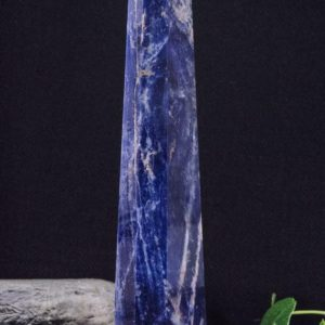 Shop Sodalite Points & Wands! Polished LARGE Blue Sodalite Crystal Tower/Healing Crystal/Blue Crystal Stone/Gift for Mom/Healing Stone/Decor/Decoration/Chakra/Reiki | Natural genuine stones & crystals in various shapes & sizes. Buy raw cut, tumbled, or polished gemstones for making jewelry or crystal healing energy vibration raising reiki stones. #crystals #gemstones #crystalhealing #crystalsandgemstones #energyhealing #affiliate #ad