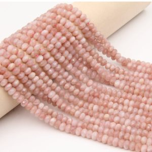 Shop Sunstone Faceted Beads! Natural Sunstone Rondelle Faceted Beads,Smooth Polish Gemstone Faceted Rondelle Beads,Good Quality Loose Beads,Wholesale Gemstone Beads. | Natural genuine faceted Sunstone beads for beading and jewelry making.  #jewelry #beads #beadedjewelry #diyjewelry #jewelrymaking #beadstore #beading #affiliate #ad