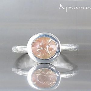 Shop Sunstone Rings! Oregon sunstone ring, size 6,75, sterling silver, band ring for her, natural stone, gemstone ring, handmade, stone ring, one of a kind ring | Natural genuine Sunstone rings, simple unique handcrafted gemstone rings. #rings #jewelry #shopping #gift #handmade #fashion #style #affiliate #ad