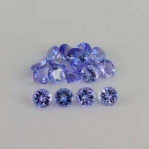 3×3 mm Natural Tanzanite Faceted Round AAA+ Grade Loose Gemstone – 100% Natural Tanzanite Gemstone ,3 mm Round Tanzanite , Tanzanite Jewelry | Natural genuine stones & crystals in various shapes & sizes. Buy raw cut, tumbled, or polished gemstones for making jewelry or crystal healing energy vibration raising reiki stones. #crystals #gemstones #crystalhealing #crystalsandgemstones #energyhealing #affiliate #ad