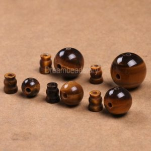 Shop Tiger Eye Beads! 2-50 Sets Natural Guru Beads Lots Wholesale Genuine Tiger Eye Gemstone Buddhist Guru Mala Beads 6 8 10 12 14mm for Jewelry Making | Natural genuine beads Tiger Eye beads for beading and jewelry making.  #jewelry #beads #beadedjewelry #diyjewelry #jewelrymaking #beadstore #beading #affiliate #ad
