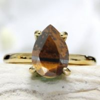 Tiger Eye Ring, stackable Rings, solitaire Ring, gold Ring, gold Filled Ring, bridal Ring, solid Gold Ring, custom Ring, personal Ring | Natural genuine Gemstone jewelry. Buy handcrafted artisan wedding jewelry.  Unique handmade bridal jewelry gift ideas. #jewelry #beadedjewelry #gift #crystaljewelry #shopping #handmadejewelry #wedding #bridal #jewelry #affiliate #ad