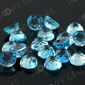 Shop Topaz Cabochons! Sky Blue Topaz Cabochon 10mm Rose Cut Round – per stone | Natural genuine stones & crystals in various shapes & sizes. Buy raw cut, tumbled, or polished gemstones for making jewelry or crystal healing energy vibration raising reiki stones. #crystals #gemstones #crystalhealing #crystalsandgemstones #energyhealing #affiliate #ad