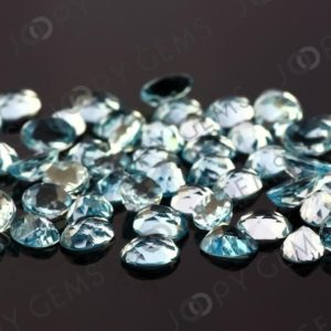 Shop Topaz Cabochons! Sky Blue Topaz Rose Cut Oval Cabochon 8x6mm – per stone | Natural genuine stones & crystals in various shapes & sizes. Buy raw cut, tumbled, or polished gemstones for making jewelry or crystal healing energy vibration raising reiki stones. #crystals #gemstones #crystalhealing #crystalsandgemstones #energyhealing #affiliate #ad