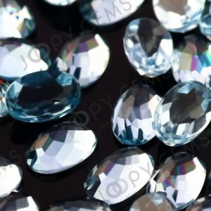 Shop Topaz Cabochons! Sky Blue Topaz Rose Cut Oval Cabochon 6x4mm – Per Stone | Natural genuine stones & crystals in various shapes & sizes. Buy raw cut, tumbled, or polished gemstones for making jewelry or crystal healing energy vibration raising reiki stones. #crystals #gemstones #crystalhealing #crystalsandgemstones #energyhealing #affiliate #ad