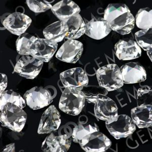 Shop Topaz Cabochons! White Topaz Rose Cut Cabochon 6mm Square Cushion – per stone | Natural genuine stones & crystals in various shapes & sizes. Buy raw cut, tumbled, or polished gemstones for making jewelry or crystal healing energy vibration raising reiki stones. #crystals #gemstones #crystalhealing #crystalsandgemstones #energyhealing #affiliate #ad