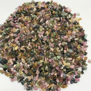 Shop Tourmaline Chip & Nugget Beads! 50 Grams Natural Tourmaline Undrilled Loose Chips Beads, 2.5mm To 4mm, Loose Beads, Gemstone Beads, Semiprecious Stone Beads | Natural genuine chip Tourmaline beads for beading and jewelry making.  #jewelry #beads #beadedjewelry #diyjewelry #jewelrymaking #beadstore #beading #affiliate #ad