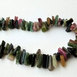 Shop Tourmaline Chip & Nugget Beads! 7-11mm Multi Tourmaline Rough Beads, 8 Inch Natural Loose Raw Multi Tourmaline Gemstone, Multi Tourmaline Rough Nugget For Necklace – PDG172 | Natural genuine chip Tourmaline beads for beading and jewelry making.  #jewelry #beads #beadedjewelry #diyjewelry #jewelrymaking #beadstore #beading #affiliate #ad