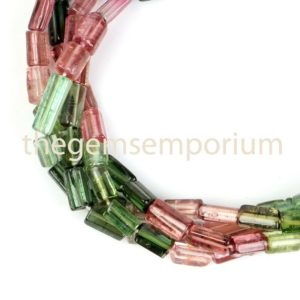 Shop Tourmaline Bead Shapes! Multi Tourmaline Plain smooth Tube shape beads, Tourmaline Tube shape beads, Tourmaline smooth beads,Multi Tourmaline beads,Tourmaline beads | Natural genuine other-shape Tourmaline beads for beading and jewelry making.  #jewelry #beads #beadedjewelry #diyjewelry #jewelrymaking #beadstore #beading #affiliate #ad