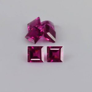 Shop Tourmaline Shapes! 1.06 Cts Natural Pink Rubellite Tourmaline 3x3x2.4 Faceted Cut Square 6 Pieces Loose Gemstone – 100% Natural Tourmaline Gemstone -rtpnk-1016 | Natural genuine stones & crystals in various shapes & sizes. Buy raw cut, tumbled, or polished gemstones for making jewelry or crystal healing energy vibration raising reiki stones. #crystals #gemstones #crystalhealing #crystalsandgemstones #energyhealing #affiliate #ad