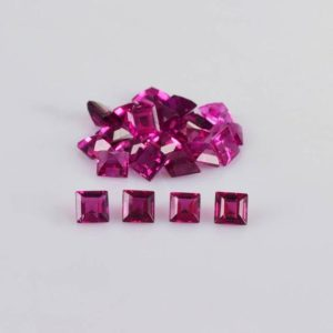 Shop Tourmaline Shapes! 2.5×2.5 Mm Natural Pink Rubellite Tourmaline Faceted Cut Square Loose Gemstone – 100% Natural Rubellite Tourmaline Gemstone – Rtpnk-1017 | Natural genuine stones & crystals in various shapes & sizes. Buy raw cut, tumbled, or polished gemstones for making jewelry or crystal healing energy vibration raising reiki stones. #crystals #gemstones #crystalhealing #crystalsandgemstones #energyhealing #affiliate #ad