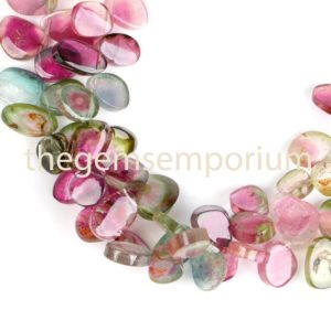 Watermelon Tourmaline Plain Smooth Slices shape Beads, Tourmaline Smooth Beads, Tourmaline Slices shape Beads, Tourmaline Beads, wholesale | Natural genuine other-shape Watermelon Tourmaline beads for beading and jewelry making.  #jewelry #beads #beadedjewelry #diyjewelry #jewelrymaking #beadstore #beading #affiliate #ad