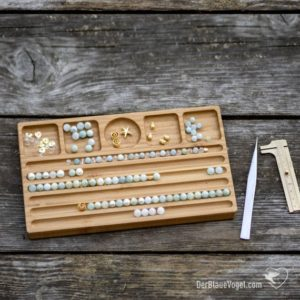 Shop Bead Boards! Wooden Bead Design Board for Bracelets and other Jewelry Design | Shop jewelry making and beading supplies, tools & findings for DIY jewelry making and crafts. #jewelrymaking #diyjewelry #jewelrycrafts #jewelrysupplies #beading #affiliate #ad
