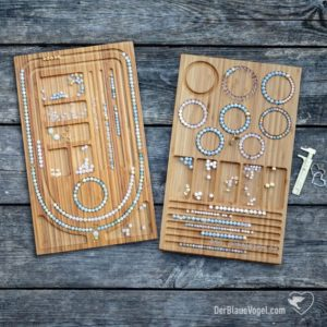 Shop Bead Boards! Wooden Mala Bead Design Board And Wooden Bracelet Bead Board As A Bundle | Necklace Design Board For Mala Making, Jewelrydesign, | Shop jewelry making and beading supplies, tools & findings for DIY jewelry making and crafts. #jewelrymaking #diyjewelry #jewelrycrafts #jewelrysupplies #beading #affiliate #ad