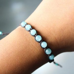 Shop Amazonite Bracelets! Natural Amazonite Bracelet | Natural genuine Amazonite bracelets. Buy crystal jewelry, handmade handcrafted artisan jewelry for women.  Unique handmade gift ideas. #jewelry #beadedbracelets #beadedjewelry #gift #shopping #handmadejewelry #fashion #style #product #bracelets #affiliate #ad