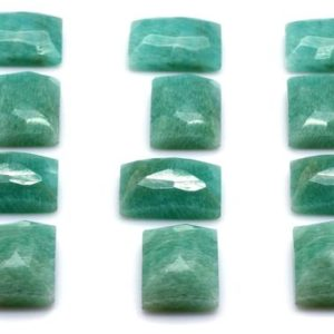 Shop Amazonite Cabochons! Breathtaking amazonite gemstone,amazonite cabochon,semiprecious cabochon,gemstone cabochon,rectangle cabochon,13x18mm – AA Quality | Natural genuine stones & crystals in various shapes & sizes. Buy raw cut, tumbled, or polished gemstones for making jewelry or crystal healing energy vibration raising reiki stones. #crystals #gemstones #crystalhealing #crystalsandgemstones #energyhealing #affiliate #ad