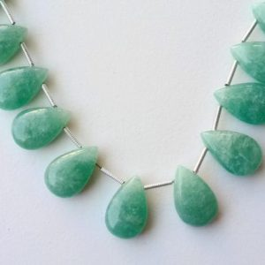 Shop Amazonite Bead Shapes! 10x16mm Amazonite Plain Pear Beads,Natural Amazonite Huge Smooth Pear Beads, 16 Pcs Amazonite For Jewelry (3.5IN To 7IN Options) – PSG102 | Natural genuine other-shape Amazonite beads for beading and jewelry making.  #jewelry #beads #beadedjewelry #diyjewelry #jewelrymaking #beadstore #beading #affiliate #ad