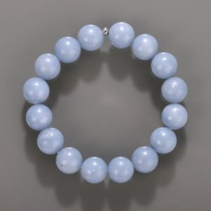 Shop Angelite Bracelets! ANGELITE Stretch Bracelet – Angelite Stone Angelite Beads Angelite Bracelet Chakra Bracelet Angelite Stone Beads Angelite Bracelet Stone | Natural genuine Angelite bracelets. Buy crystal jewelry, handmade handcrafted artisan jewelry for women.  Unique handmade gift ideas. #jewelry #beadedbracelets #beadedjewelry #gift #shopping #handmadejewelry #fashion #style #product #bracelets #affiliate #ad