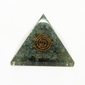Shop Aquamarine Shapes! Aquamarine Orgone Pyramid – Orgonite, EMF Protection, Mermaid stone, Calming crystal | Natural genuine stones & crystals in various shapes & sizes. Buy raw cut, tumbled, or polished gemstones for making jewelry or crystal healing energy vibration raising reiki stones. #crystals #gemstones #crystalhealing #crystalsandgemstones #energyhealing #affiliate #ad