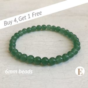 Shop Aventurine Bracelets! Green Aventurine Bracelet | 6 mm Beads | Aventurine Beads | Stretch Bracelet | Healing Crystal Bracelet | Buy 4 Get 1 FREE! | Natural genuine Aventurine bracelets. Buy crystal jewelry, handmade handcrafted artisan jewelry for women.  Unique handmade gift ideas. #jewelry #beadedbracelets #beadedjewelry #gift #shopping #handmadejewelry #fashion #style #product #bracelets #affiliate #ad